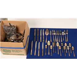 Horde of Silver Plated Flatware  (120910)