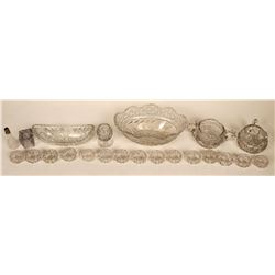 Lead Crystal Cut Glass Tableware  (121543)