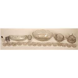 Lead Crystal Cut Glass Tableware  (121543)