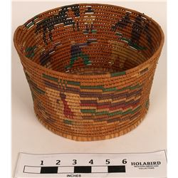 Vintage Mexican Basket  (120978)