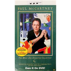 Paul McCartney Signed Poster  (121289)