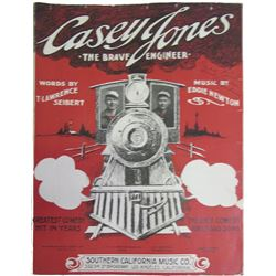 Casey Jones The Brave Engineer Sheet Music  (86428)