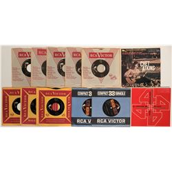 Country 45 rpm records  (109352)