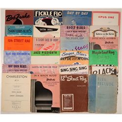 Jazz and Blues Sheet Music Folio  (108815)