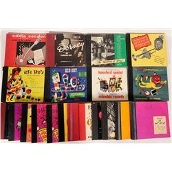 Volumes of Jazz 78s  (109810)