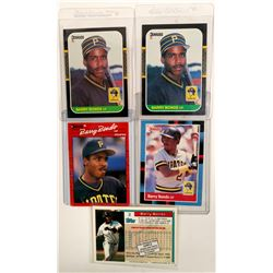 Card Collection Owned By Barry Bonds  (104109)