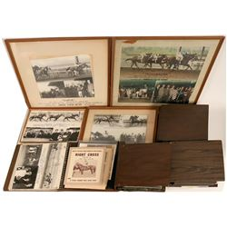 Pictorial Archive of Racehorse Trainer Ted Saladin  (121771)