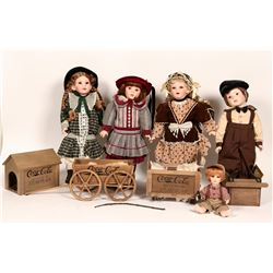 Coca-Cola Kids Doll Collection (7)  (112770)