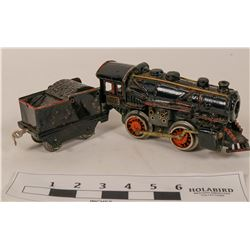 Model Train American Flyer Cast Iron Locomotive  (121319)
