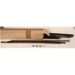 "Model Train HO 36"" Straight Track...Box  (121317)"