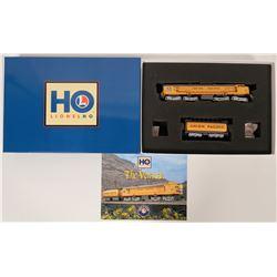 Model Train Lionel Union Pacific Veranda #61 Turbine and Fuel Tender  (121033)