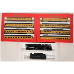 Model Train Union Pacific HO 4-6-6-4 Challenger and Excursion Rolling Stock  (121032)