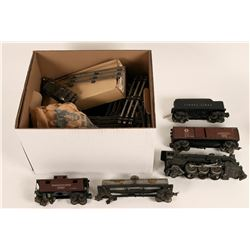 Model Train Vintage Lionel Train, Cars and Track Set  (121273)