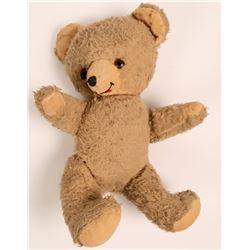 Vintage European Teddy Bear with Glass Eyes  (108221)