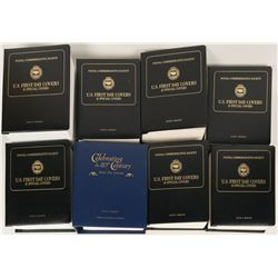 First Day Covers (8 Binders)  (121752)