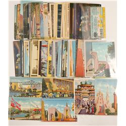 Golden Gate Expo Postcard Collection  (103331)
