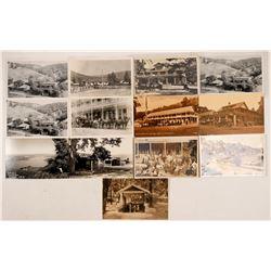 Siegler Springs, CA RPC Postcards  (103356)