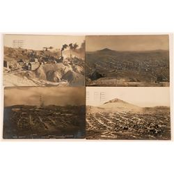 Three Cripple Creek RP Birdseye Views & A Real Photo of Ajax Mine and Mill  (118520)
