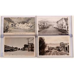 Salmon, Idaho, Real Photo Postcards: Main St., US Mail,  (119964)