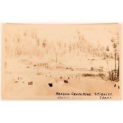 Stibnite, Meadow Creek Mine, Mining Camp RPC -  (119961)