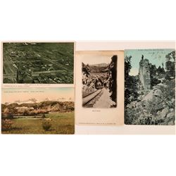 Raton, New Mexico Postcards (4)  (118474)