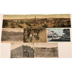 Silver City, New Mexico Including A Tri-fold Postcards (6)  (118473)
