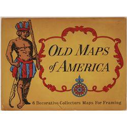 Vintage Patriotic Postcards (18) and 7 Maps  (118922)