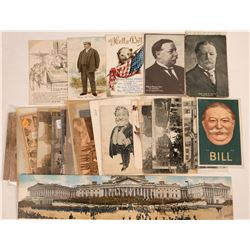 William Howard Taft Postcard Group  (120661)