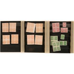 Nevada Adhesive Revenue Stamp Collection  (113625)