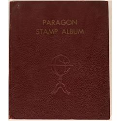 Old Paragon Stamp Album  (120921)