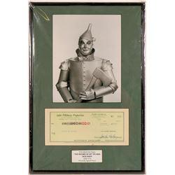 Jack Haley Autographed Framed Memorabilia  (121529)