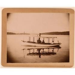 Early Lake Tahoe Mounted Photograph  (113563)