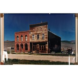 Miners Union Hall, Colored Bodie Photograph  (112342)