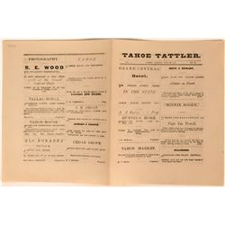 Tahoe Tattler (Newspaper), Vol. 1, No. 12  (113638)
