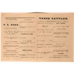 Tahoe Tattler (Newspaper), Vol. 1. No. 3  (113637)