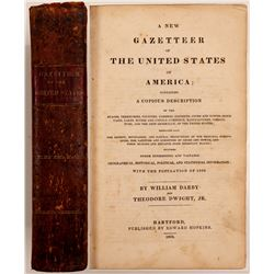 New Gazetteer of the United States by Darby & Dwight  (108487)