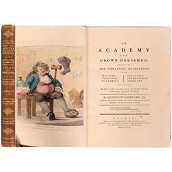 Academy for Grown Horsemen, Gambado, 1787 and 1791  (114330)