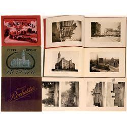 Hartford, Buffalo & Rochester Souvenir & View Books (3)  (120939)