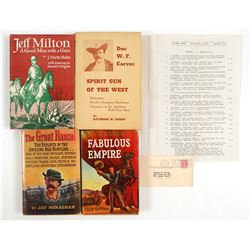 Wild West Books (4 Hardback)  (109490)