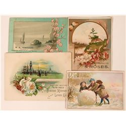 Sierra Kidney & Liver Cure Trade Card Plus Other SF Trade Cards  (113478)