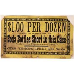 Truckee Soda Works Broadside  (113358)