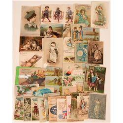 Carson City, Nevada Trade Card Collection  (113499)