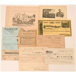 J.M. Benton (Benton's Liniment) Archive  (113398)