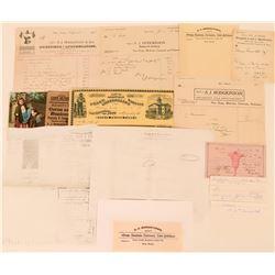 S.J. Hodgkinson Druggist Archive  (113389)