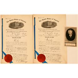 Mark Twain Whisky Trademark Patents  (113208)