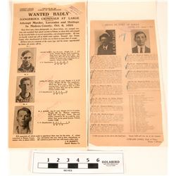 Wanted Posters - Wanted Badly! Murder and More (2)  (120656)