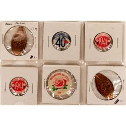 Portland Rose Festival Pinback & Souvenir Collection  (119325)