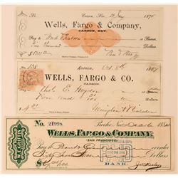 Wells Fargo Nevada Check Trio  (113532)