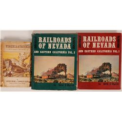 A Trio of Nevada Railroad Books  (121290)