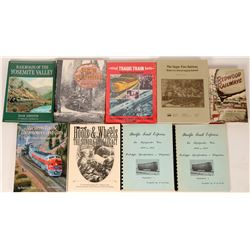 Books on Logging Railroads  (121285)